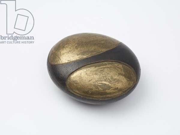 Round Stone, 1972 (from undated work) (sculpture)