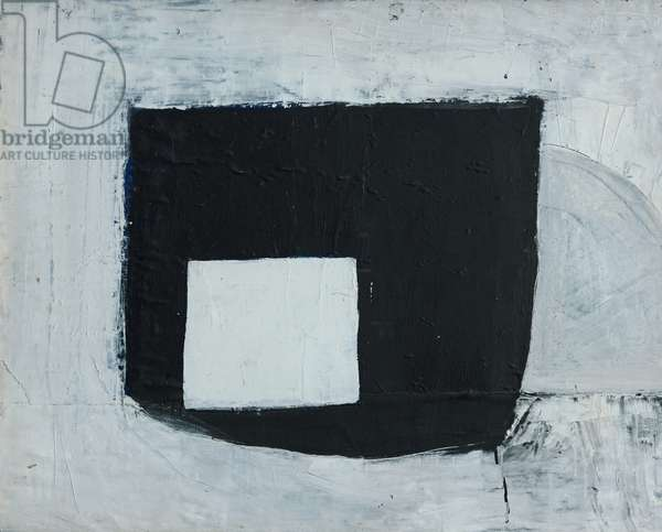 Composition (White Square on Black), 1963 (circa) (painting)