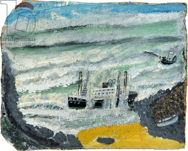 Shipwreck 2  - The Wreck of the Alba, 1938-40 (painting)