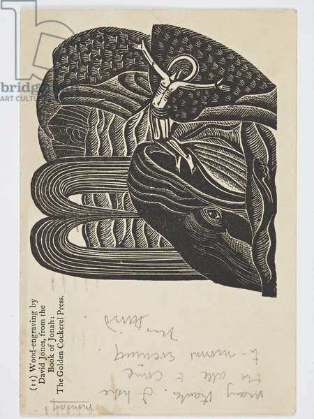The Whale Vomits out Jonah, 1926 (print)