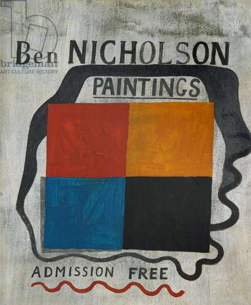 Exhibition sign, 1933 (circa) (painting)