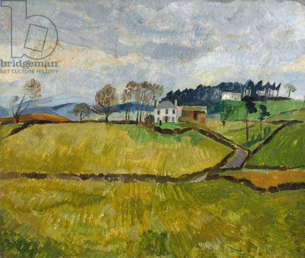 Cumberland Landscape (Northrigg Hill), 1928 (painting)