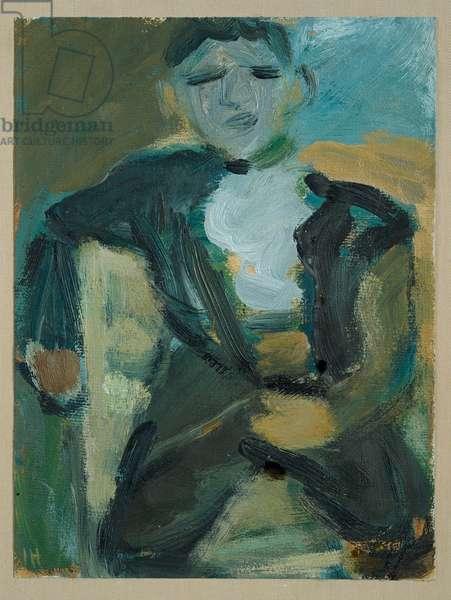 Sitting Boy, n.d. (painting)
