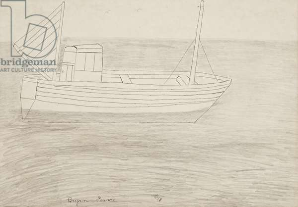 French Crabber, 1964 (drawing)