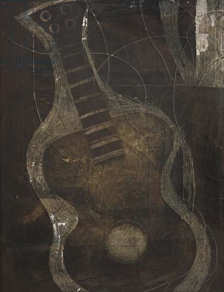 1932-33 (black guitar), 1932-33 (painting)