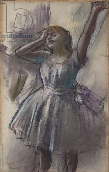 Dancer Stretching, c.1882–85 (pastel on paper)