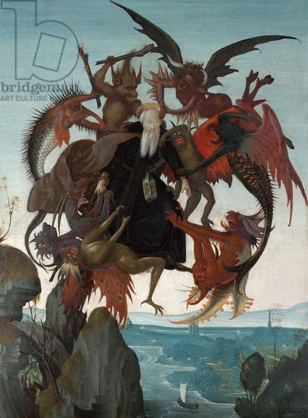 The Torment of Saint Anthony, c.1487-88 (tempera & oil on panel)