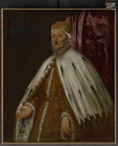 Portrait of Doge Pietro Loredan, 1567-70 (oil on canvas)