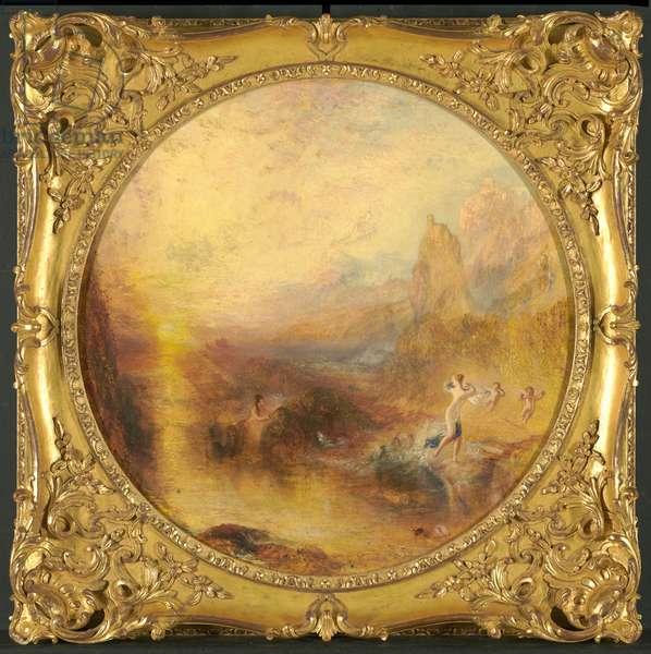 Glaucus and Scylla, 1841 (oil on panel)