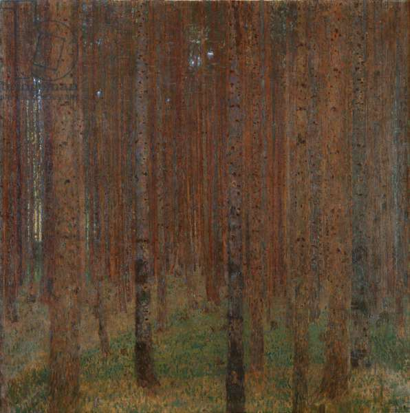 Pine Forrest II, 1901 (oil on canvas)