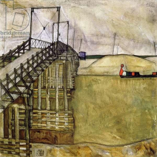 The Bridge, 1913 (oil on canvas)