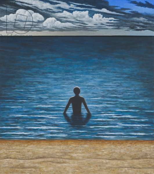 Bather, 2006 (oil on linen)
