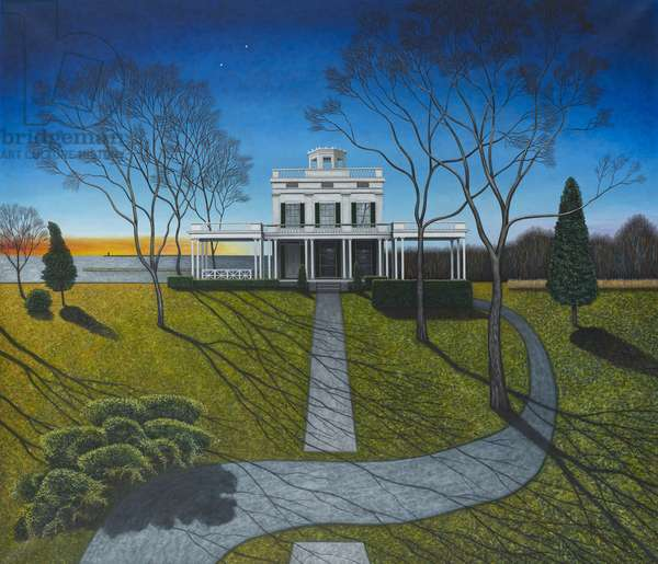 Big house, Homage to America, 2013 (oil on canvas)