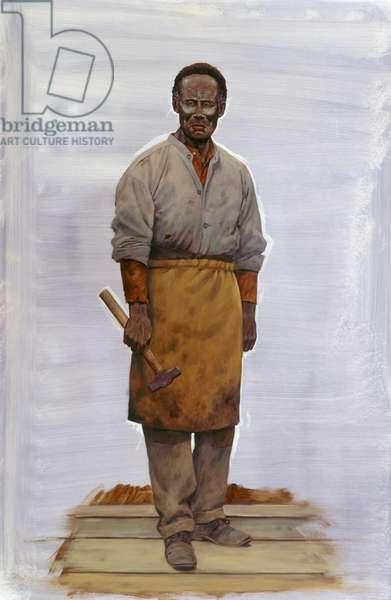 Pea Ridge - Slave, 2009 (oil on linen)