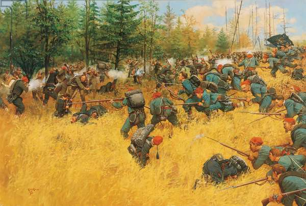 Into the Wilderness 1864, 1990 (oil on linen)