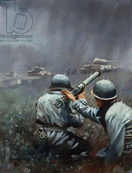 Korean War, 2000 (oil on linen)