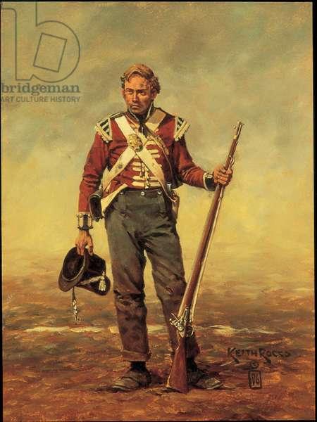 British Light Company Private: Coldstream Guards 1815, 1996 (oil on board)