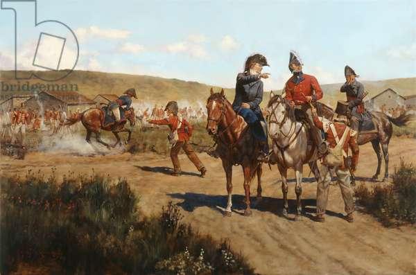 Wellington and Pakenham at Salamanca 1812, 2009 (oil on linen)