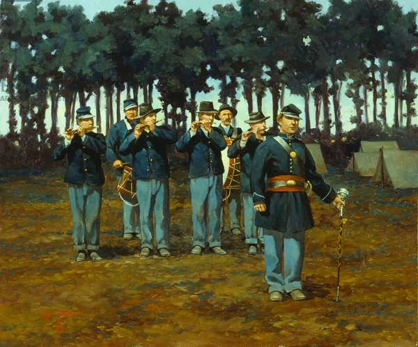 Fifes and Drums 1861, 1994 (oil on linen)