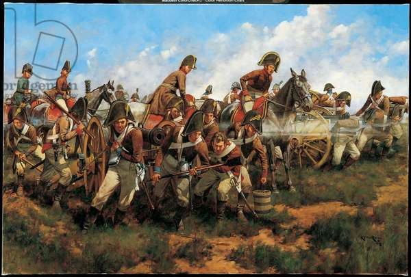 Forward by Bricole! May 22 1809, 2005 (oil on linen)