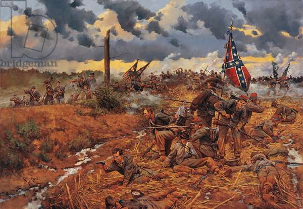 Victory or Death - Sailor's Creek 1865 , 1995 (oil on linen)