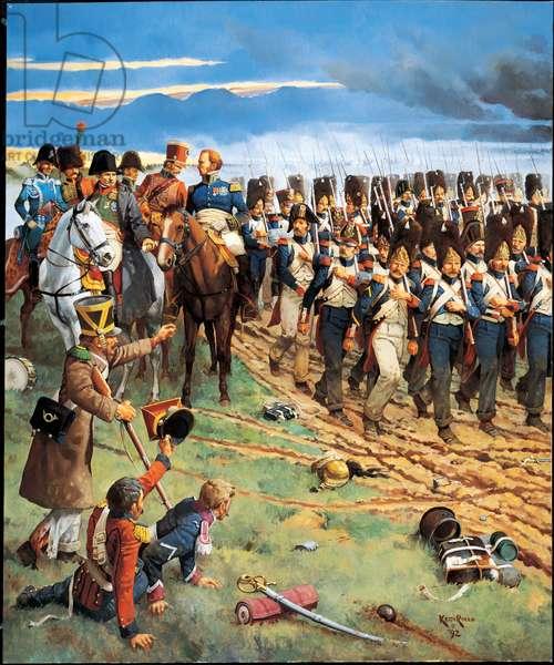 The Final Gamble 1815, 1992 (oil on linen)