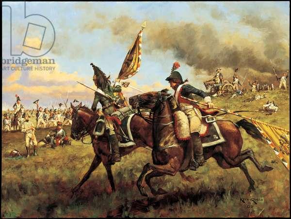 Victoire! 1800, 2000 (oil on linen)