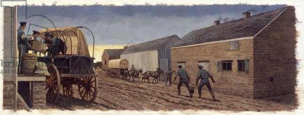 Fort Scott Supplies, 1998 (oil on linen)