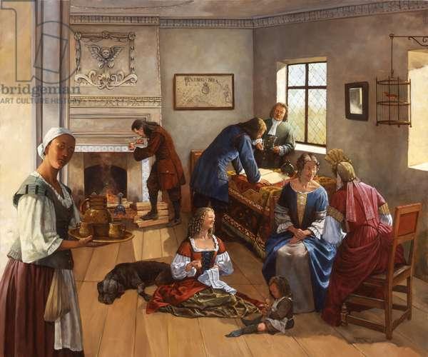 Jamestown 1690s (#2), 2005 (oil on linen)