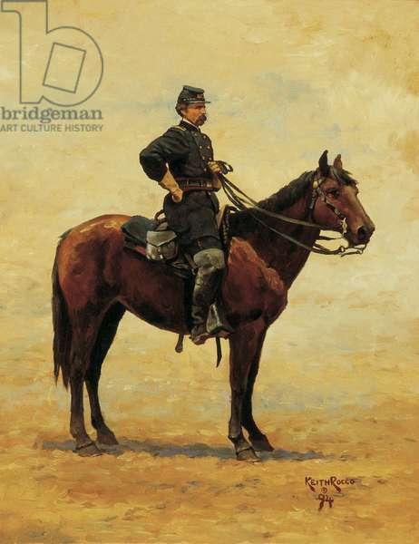 Colonel Joshua L. Chamberlain 1862, 1994 (oil on linen)