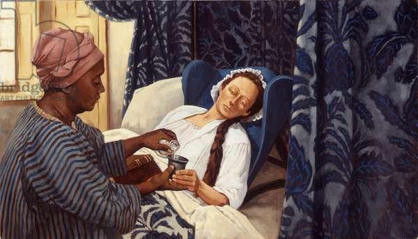 Thomas Stone's Ill Wife, 1998 (oil on linen)