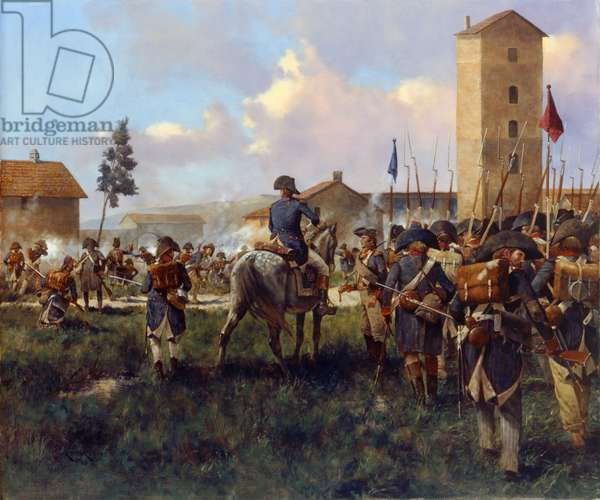 Marengo French Attack, 2010 (oil on linen)