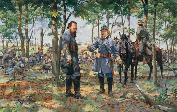 The Burden of Command 1863 , 1991 (oil on linen)