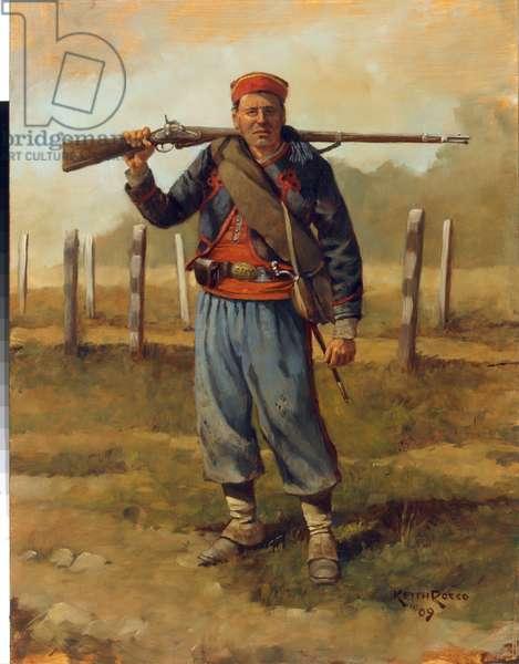 10th New York Volunteer Infantry 1863, 2009 (oil on board)