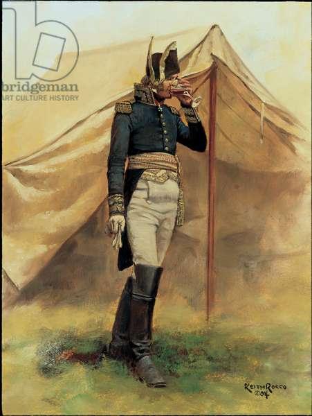 General Cambronne 1815, 2004 (oil on board)