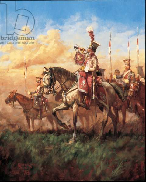 The Last Call at Waterloo 1815, 1998 (oil on linen)