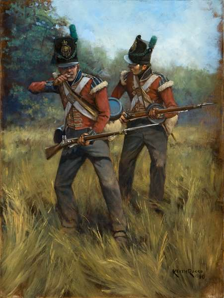 1st Royal Scots, 2010 (oil on board)