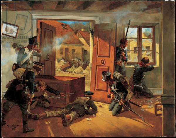 Mockern - 1813, 2005 (oil on linen)