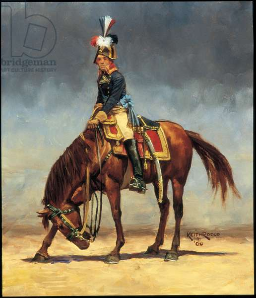 General Francois-Etienne Kellermann, the younger 1800, 2000 (oil on board)