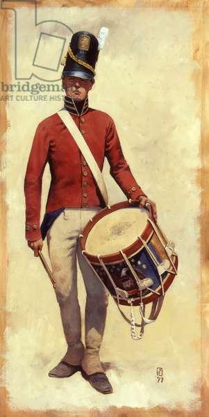 Corps of Artillery Drummer, 1999 (oil on linen)