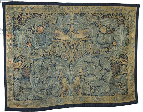 Acanthus & vine tapestry, 1877 (woven tapestry)