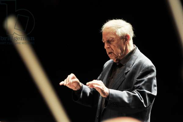 Pierre Boulez at Salzburg Festival 2011