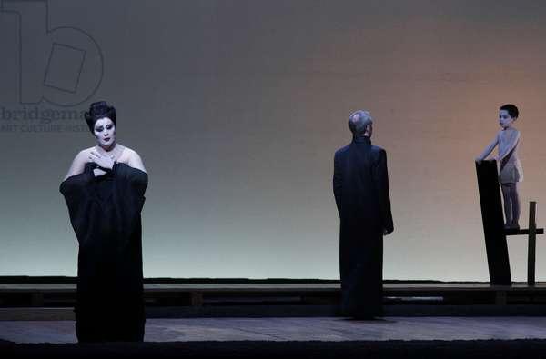 Micaela Carosi as Madame Butterfly, Paris Opera, January 2011