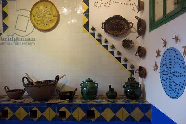 Frida Kahlo's kitchen, 2014