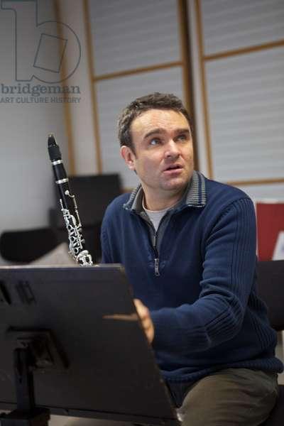 Jorg Widmann, Clarinet Salzburg 2011 Conductor of Giardino Harmo (photo)