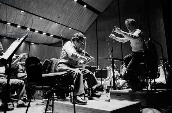 Itzhak Perlman and Daniel Barenboim