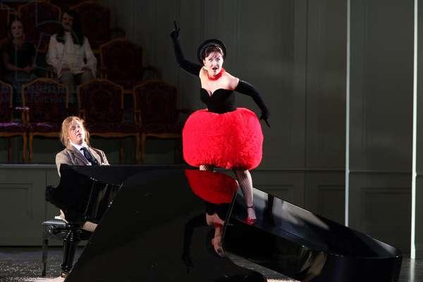 Elena Mosuc as Zerbinetta in Ariadne auf Naxos by Strauss