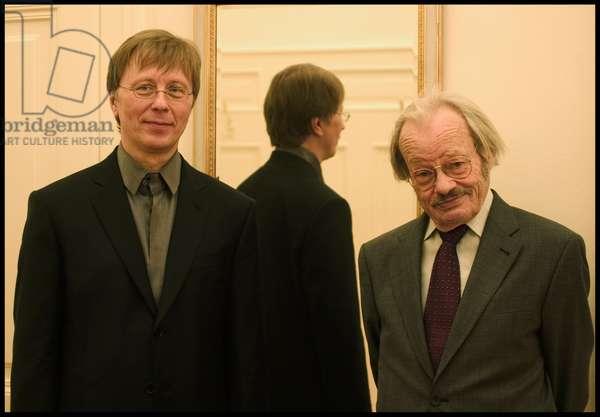 Georg Friedrich Haas and Friedrich Cerha