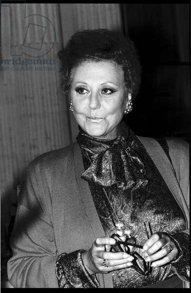 Regine Crespin in Paris, 1990