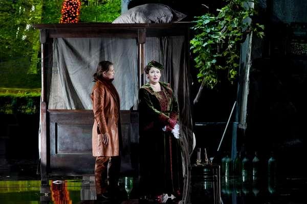 Der Rosenkavalier, opera by Richard Strauss, Salzburg 2014